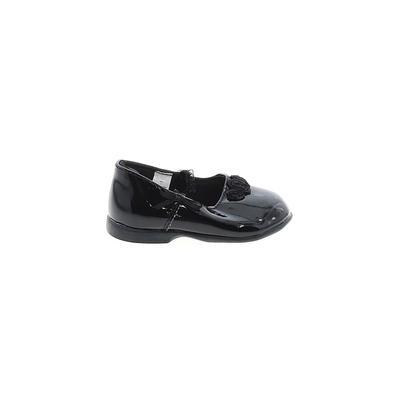 Trimfoot Flats: Black Solid Shoe...