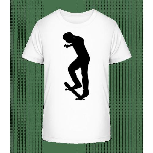 Skateboard Ollie - Kinder Premium Bio T-Shirt