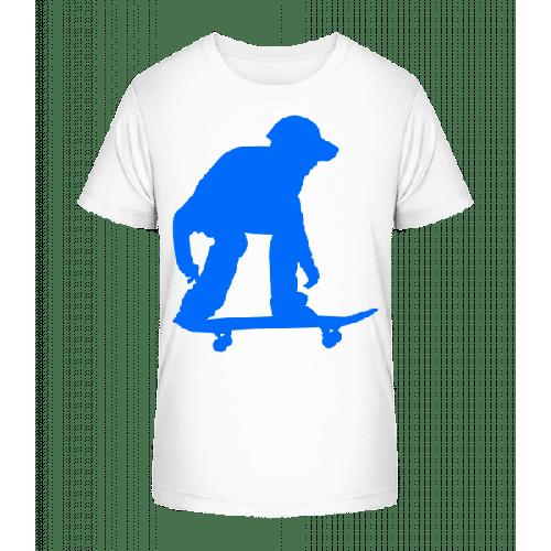 Skateboarder Bereit - Kinder Premium Bio T-Shirt
