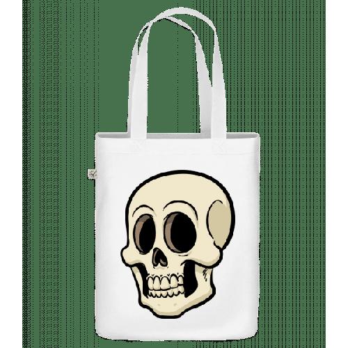 Comic Totenkopf - Bio Tasche