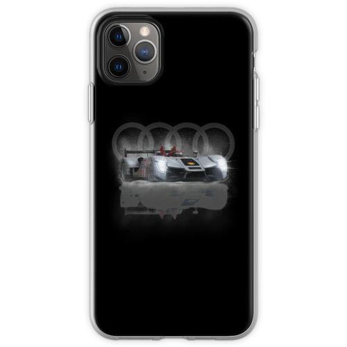 Audi Motoracer Design von MotorManiac Flexible Hülle für iPhone 11 Pro Max