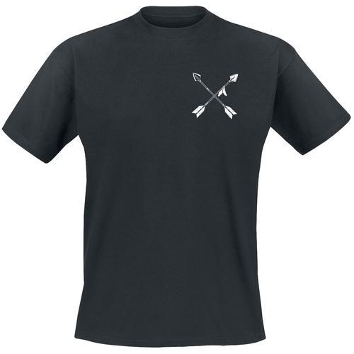 Tribe & Arrow Tribe & Arrow Herren-T-Shirt - schwarz