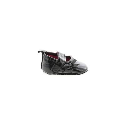 Booties: Black Solid Shoes - Siz...