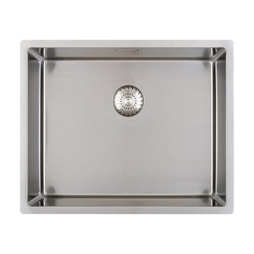 PREMIUM 300 Küchenspüle mit nahtlosem Design-Ablauf B: 54 T: 44 cm PR1179