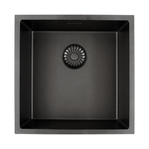 PREMIUM 300 Küchenspüle mit nahtlosem Design-Ablauf B: 44 T: 44 cm PR1182