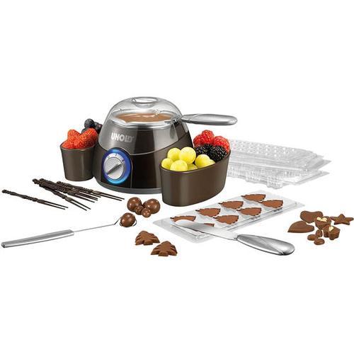 Chocolatier-Schokofondue, silber