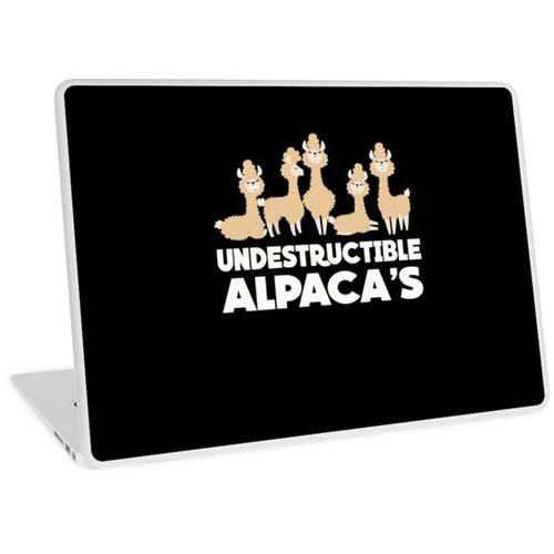 Alpakas Alpakas Alpakas Laptop Skin