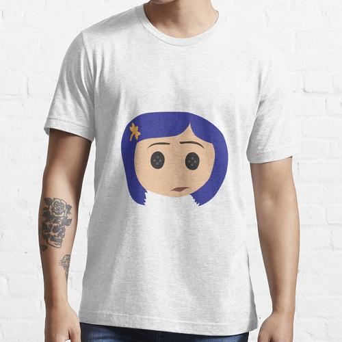 Einfache Coraline Essential T-Shirt