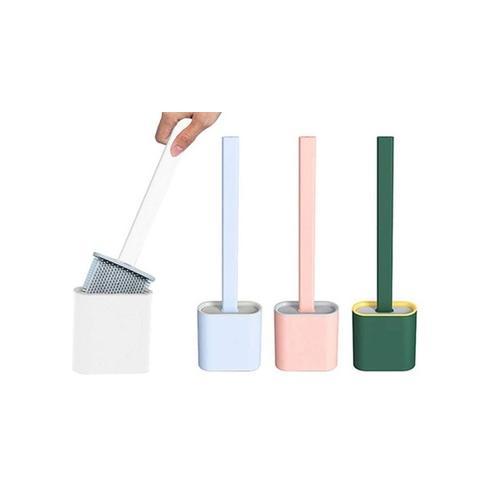 Silikon-WC-Bürste: Rosa/ 2