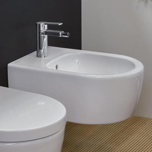Villeroy & Boch Avento Wand-Bidet L: 53 B: 37 cm weiß, mit CeramicPlus 540500R1