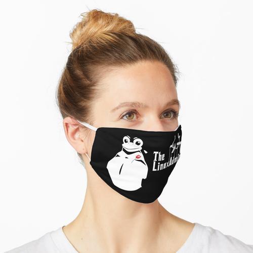 Der Linux Admin Tux Penguin für Linux Hacker Maske