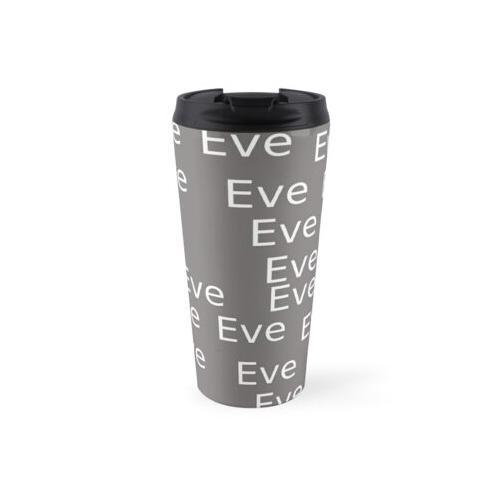 Mein Name ist Eva personalisierte Artikel Thermosbecher