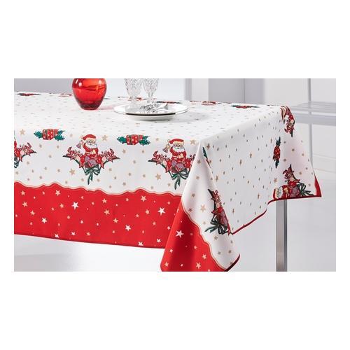 Tischdecke: Weihnachtsmann / 160 cm