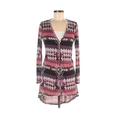 About A Girl Cardigan Sweater: Pink Sweaters & Sweatshirts - Size Small