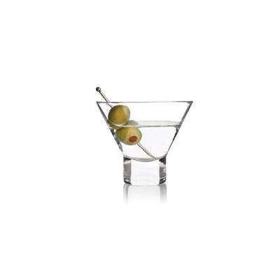 Raye Stemless Martini Glasses (Set of 2) Glassware