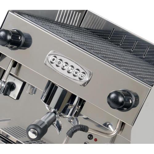 Siebträger - Espressomaschine BAROSSI Professionale 1 Gr. Autom. - Farbe: Rot