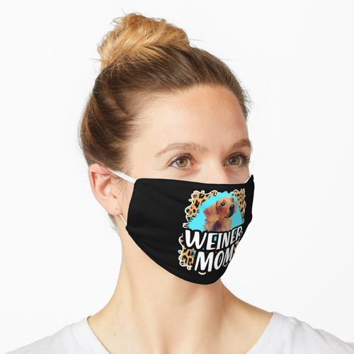 Weiner Mom Dackel Mom Liebhaber Maske