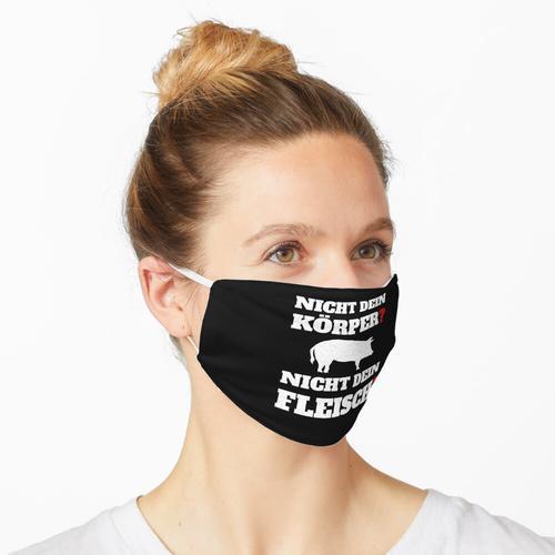 Tierschützer Tierschutz Aktivist Veganismus Vegan Geschenk Maske