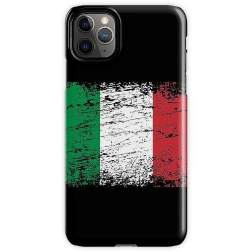 Italien italienisch Flagge Fahne used-look Italia iPhone 11 Pro Max Handyhülle