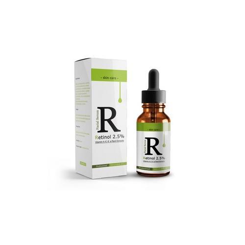 10 ml Gesichtsserum mit 2 5% Retinol und Vitamin E: 2