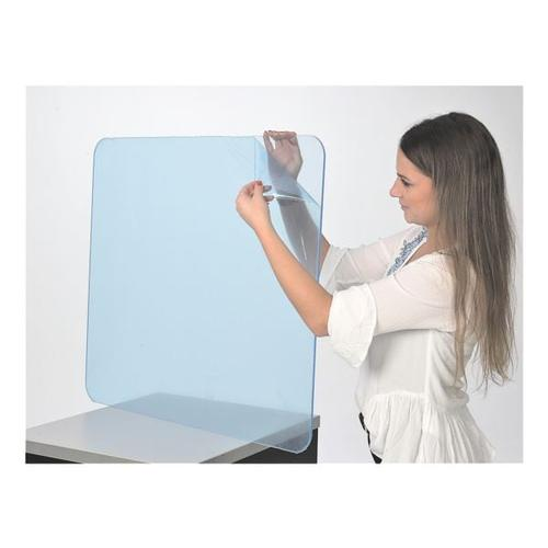 Acrylplatte / Trennscheibe 6 mm, 70 x 80 cm transparent, update displays, 80x70x0.6 cm