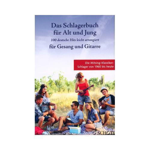 Schott Schlagerbuch Alt und Jung Git