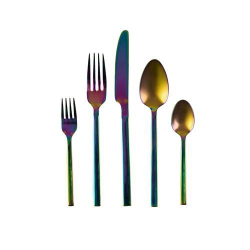 Besteck-Set, 20-tlg. IMPRESSIONEN living regenbogenfarben