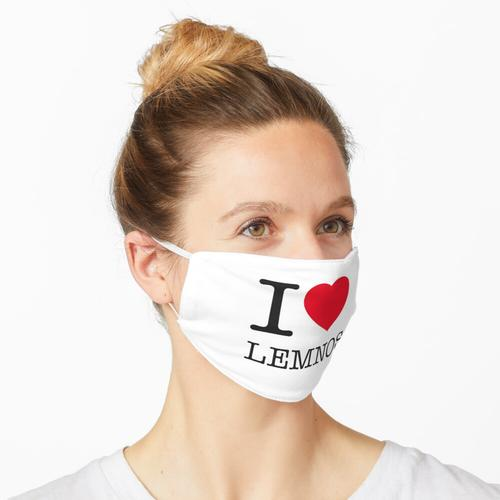 I LOVE LEMNOS Maske