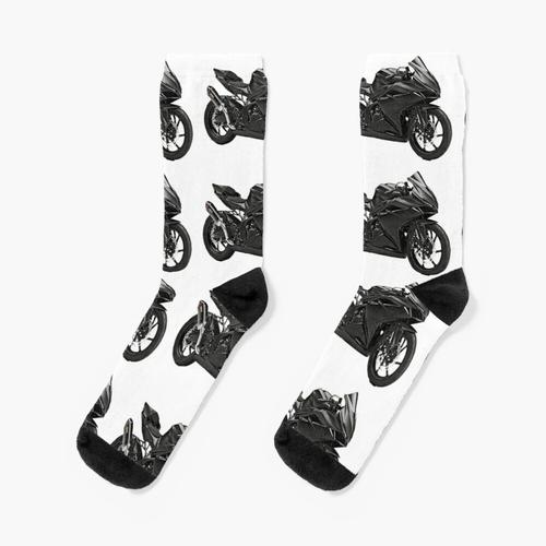 Fahrrad, Motorrad, Geschwindigkeit Socken