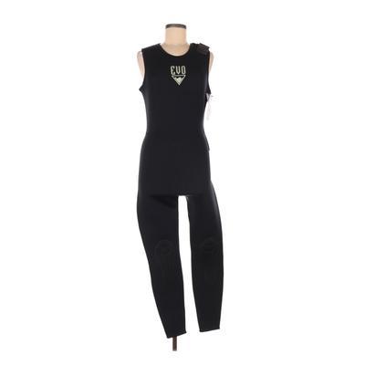 EVO Wetsuit: Black Solid Swimwear - Size 9