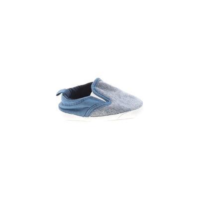 Carter's Booties: Blue Solid Sho...
