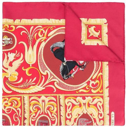 Hermès Pre-owned Schal mit Pferde-Print