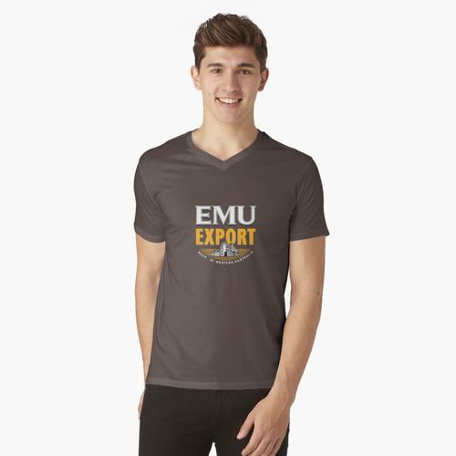 EMU EXPORT BIER t-shirt:vneck