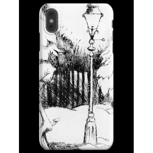 Laternenpfahl (Plexiglasgravur) iPhone XS Max Handyhülle