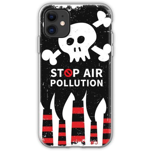 Luftverschmutzung stoppen Flexible Hülle für iPhone 11