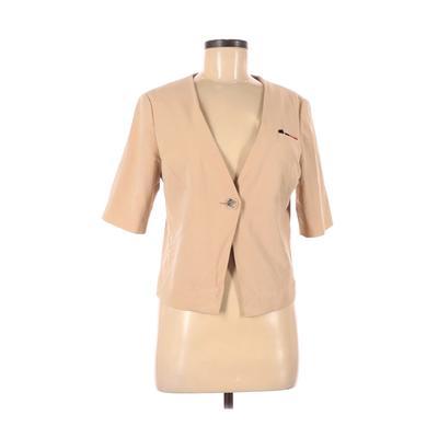 Fashion Star Jacket: Tan Solid J...