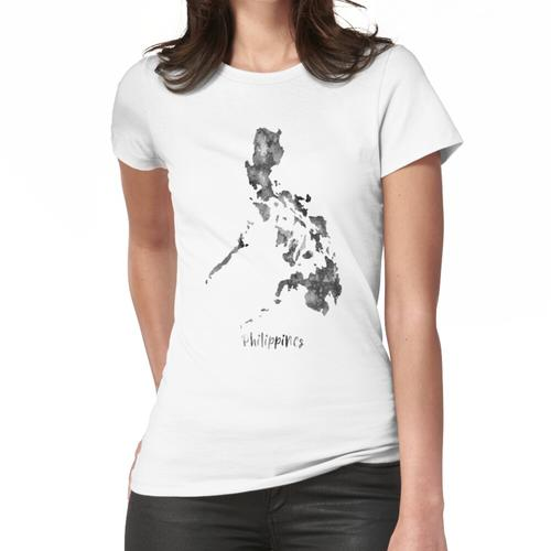 Philippinen Karte, Philippinen Frauen T-Shirt