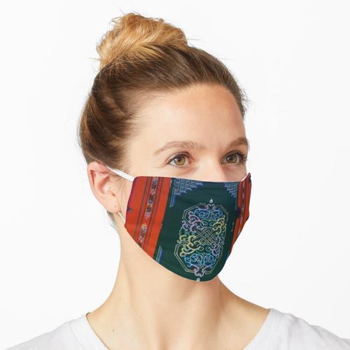 Mongolische Jurte, Maske