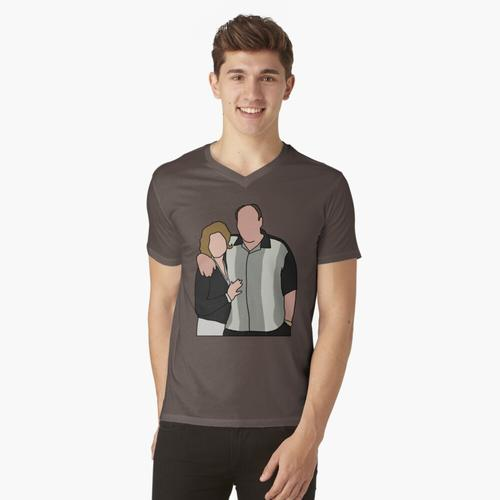 Tony und Carmela t-shirt:vneck