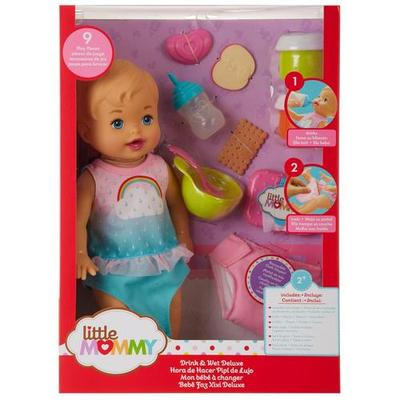 Little Mommy Drink & Wet Deluxe Doll