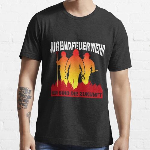 Jugendfeuerwehr FFW Lustiges Feuerwehr Geschenk Geburtstag Essential T-Shirt