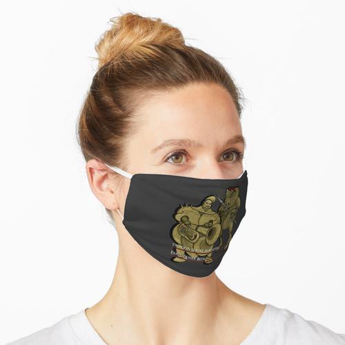 Hornstein und Schlag Maske