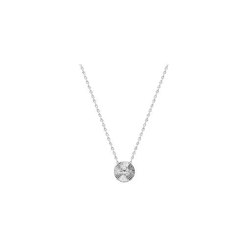 Silberkette Solitär Kette Silber Dkeniz silber