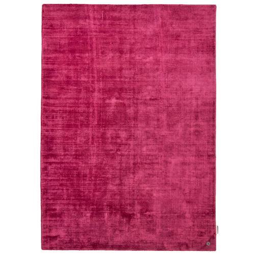 Handarbeitteppich Shine Uni Tom Tailor Pink