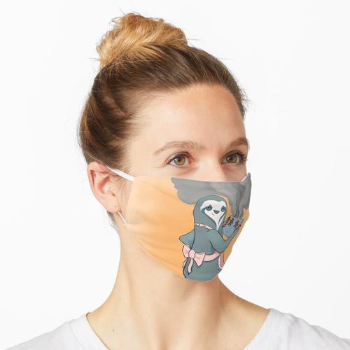 Gut gemacht Keksfaultier Maske