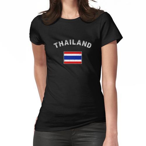 Thailand thailändisch Flagge Fahne Bangkok Frauen T-Shirt