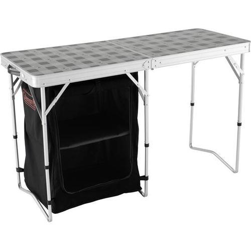 COLEMAN 2 in 1 - Tisch und Lagerfläche, Größe - in grau