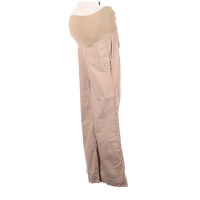 Gap Khaki Pant: Tan Solid Bottom...
