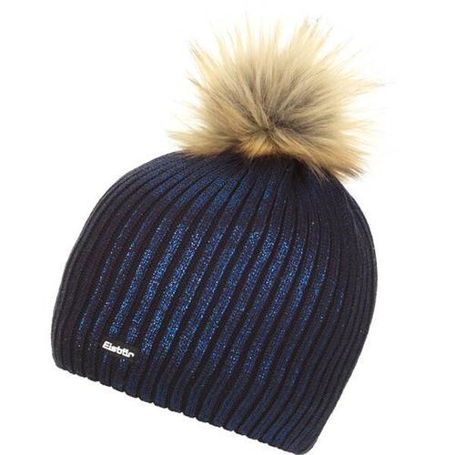 EISBÄR Damen Mütze Grania Lux MÜ, Größe ONE SIZE in nacht-blaue Folie