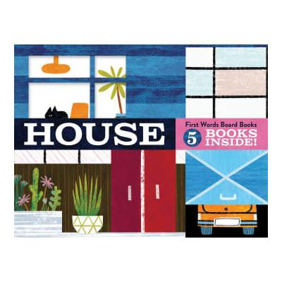 Chronicle Books - House First Words Board Books Michael Slack